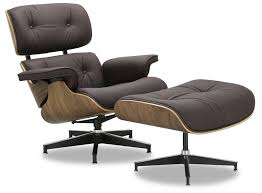 Eames Replica Lounge Chair (Dark Brown Leather) | Furniture & Home ... White Ash Eames Lounge Chair Ottoman Hivemoderncom Replica Ivory And Herman Miller Chicicat Collector And Black 100 Leather High Quality Base Prinplfafreesociety Husband Wife Team Combine To Create Onic Lounge Chair The Interiors Chairs