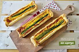 mini quiche pate feuilletee mini tarte feuilletée à l asperge verte et ciboulette