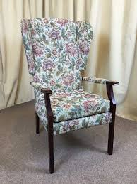 High Wing Back Easy Chair Floral Fireside Armchair | In Winterton ... Gentlemans Fireside Armchair In Fabric Or Leather Theodore Alexander Warmth By The Fireside Armchair Ding Chairs Armchair Immaculate Cdition In Ystrad Mynach S Wing Chair High Back Surripuinet Sofas And Jubilee Seat Winged Grey Duke Chesterfield Fabric Victorian Mahogany Spoonback 252820 Lovely Vintage Green Wing Back Fireside Fforestfach 2 Pair Of Ercol Tall Easyfireside Chairs Dark Elm Windsor No A Lovely Original Blond Or