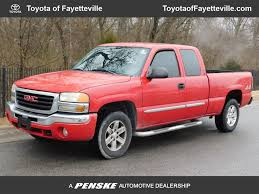100 2004 Gmc Truck Used GMC Sierra 1500 Ext Cab 1435 WB 4WD SLE At Toyota Of