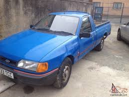 Ford Sierra P100 Pick Up 1.8td Retro Rwd Drift 1 Owner From New ...
