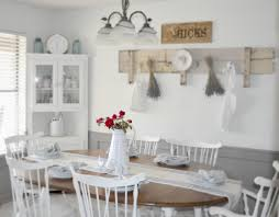 Shabby Chic Dining Room Wall Decor by Shabby Chic Kitchen Curtains Things You Have To Do When Creating