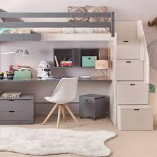 chambre avec lit mezzanine 2 places lit mezzanine ksl living chambre shania chambres