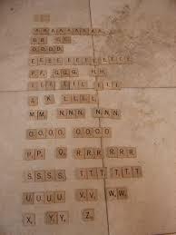 Standard Scrabble Tile Distribution by Selchow U0026 Righter Co 1953 Complete Scrabble Game Enkore Kids