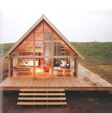 A Frame Homes Prefab Small Wood Huset Pinterest Cabin And Woods 7
