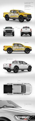 100 Hand Picked Trucks FullSize Pickup Truck Mockup Pack In Picked Sets Of Vehicles On