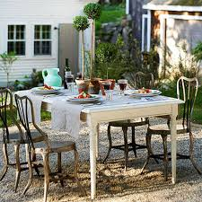 Pea Gravel Patio Images by Pea Gravel Patio 15 Ideas For Outdoor Dining All Things