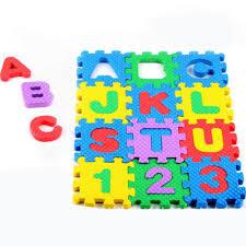 Foam Floor Mats Baby by Aliexpress Com Buy 36pcs Baby Kids Eva Foam Numbers And Alphabet