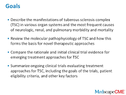 emerging treatment strategies for tuberous sclerosis complex ppt