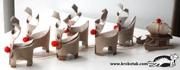 TP Roll Reindeer 12 Christmas Crafts We Love And These Toilet