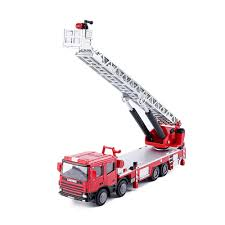 100 Metal Fire Truck Toy Amazoncom KDW 150 Scale Diecast Ladder Construction