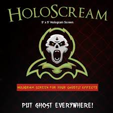 Halloween Ghost Projector by Halloween Hologram Screen And Stand