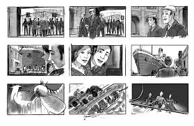 Titanic Sinking Animation Pitch Black by I Love This Storyboard From Disney It U0027s Alice And Wonderland When