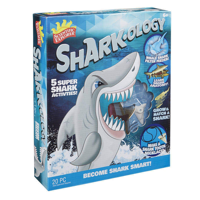 Scientific Explorer Sharkology Activity Kit - 20pcs