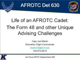 afi 36 2903 afrotc supplement air force rotc detachment 025