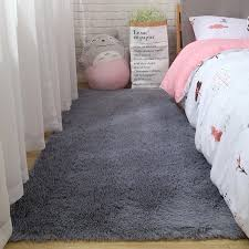 langhaarige schlafzimmer vorne teppich zimmer dekoration decke wohnzimmer teppich nordic tisch matte verdickung weiche haut freundliche teppich