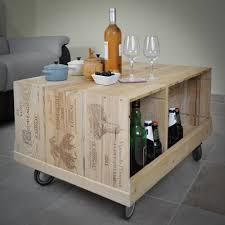 caisse a vin en bois petit meuble tv sur roulettes wood ma caisse à vin