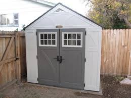 suncast tremont 4 ft 3 4 in x 8 ft 4 1 2 in resin storage shed