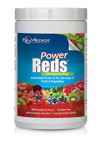 NuMedica Power Reds Supplement - Strawberry Kiwi, 10.58oz