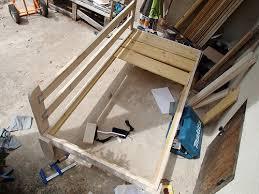 fabriquer un canapé en bois fiche de savoir 15 construction d un canapé en bois nature