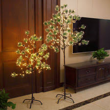 Christmas Green Pine Needle Twig Tree Gift Light Branches For OutdoorIndoor Use