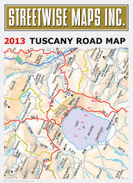 Driving Map Of Tuscany