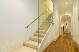 frank s auto glass contemporary staircase and arched doorway