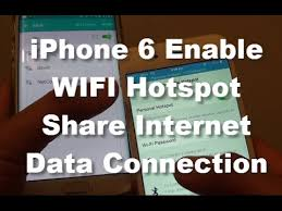 iPhone 6 How to Enable Personal WiFi Hotspot and Internet