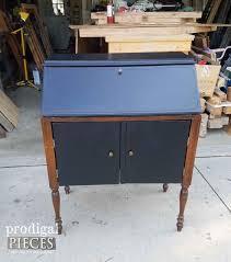 Antique Secretarys Desk by Secretary Desk With English Cottage Style Prodigal Pieces