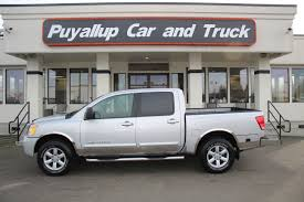 Used One-Owner 2011 Nissan Titan SV In Puyallup, WA - Puyallup Car ... New Nissan Titan Lease Offers Auburn Wa Used 2013 Sl For Sale In Timmins Ontario Carpagesca 4wd Crew Cab Swb At Premier Auto Serving 2017 Specs And Information Planet Buy A Sedan Car Sales Near Watsonville Ca Rockwall Finance Incentives Specials 2018 Sale San Antonio Why You Should Consider One 902 Dartmouth 17411a Reviews Research Models Carmax Le 44 Carland Inc