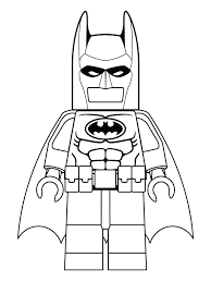 Lego Batman Car Coloring Pages Free Printable Logo Online Movie Full Size
