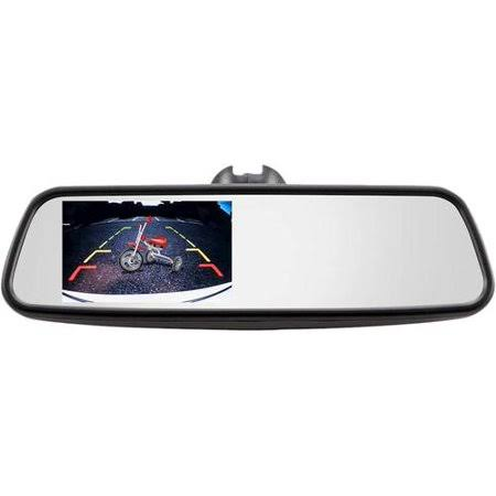 Ibeam Replacement Rearview Mirror Monitor - Black, 4.5""
