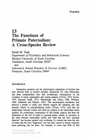 Dental Front Desk Receptionist Resume by The Functions Of Primate Paternalism A Cross Species Review
