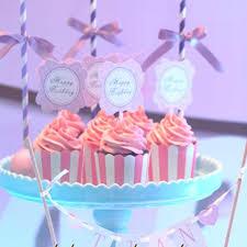 Grosshandel Cupcake Papierkasten Mini Muffin Cup Cake Wrapper Zwischenlagen Bunte Bander Hochtemperaturfeste Backpapierbecher Von Smalleyes100