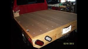 How To Build A Wooden Bed For A Ford Ranger Or A Mazda B2300 .wmv ...