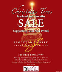 Christmas Trees And More Join Our Sale Supporting Local Non Profits
