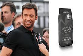 Hugh Jackman And Laughing Man Coffee Tea