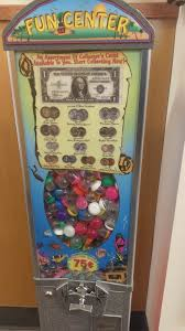100 Liberty Truck Stop Coin Collectors Gumball Machine At A Pilot Truck Stop On I75 Coins