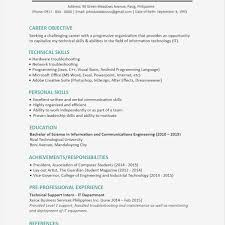 Sample Resumes For College Students Resume