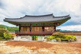 104 South Korean Architecture Traditional Old Building Or Monks Temple In Korea At Autumn Stock Photo Picture And Royalty Free Image Image 36848885