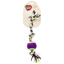 Petco Flower Ball Aquarium Decor by Leaps U0026 Bounds 3 Knot Cloth Dog Toy Petco