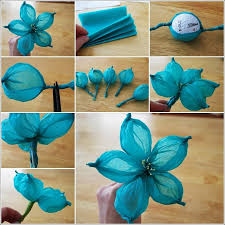 How To Make A Flower Out Of Paper Step By Diy Tutorial