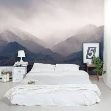 Misty Mountains Wall Murallove The Idea Of A Full Size Painting Mural