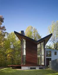 100 Robert Gurney Forest Dwelling Harkavy Residence By