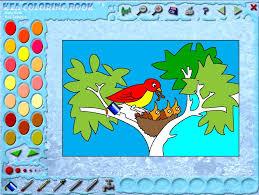 Kea Coloring Book Image 1 Thumbnail