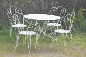 table de jardin metal pas cher emejing table de jardin metal