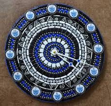 The Tile Shop Lake Zurich Illinois by Hand Crafted Lake Zurich Bears Football Mosaic Clock By Flutterfly