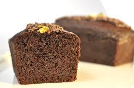 Egg free chocolate pound cake Pastry Chef Author Eddy Van Damme