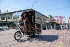 100 What Time Does The Ups Truck Come UPS Launches Cargo Ebike Delivery In Seattle Returning To Bicycle