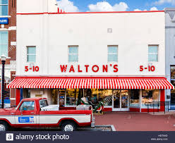 100 Sam Walton Truck S First Five And Dime Store In Bentonville Arkansas USA